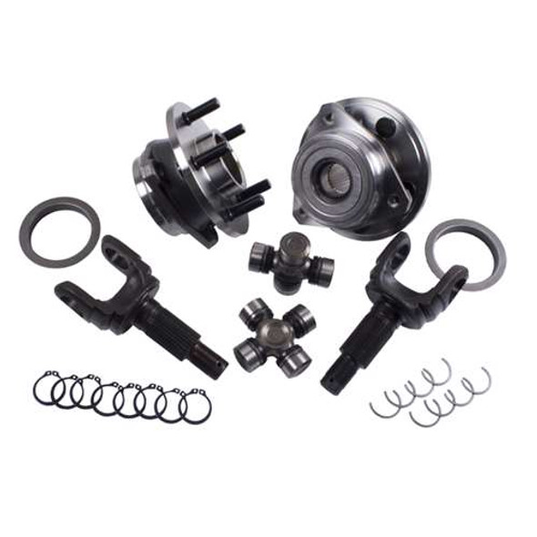 Alloy USA Axle Kit for D30 F 30SP YJ/TJ/XJ
