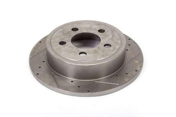 Alloy USA Brake Rotor Pair Slot/Drilled 1