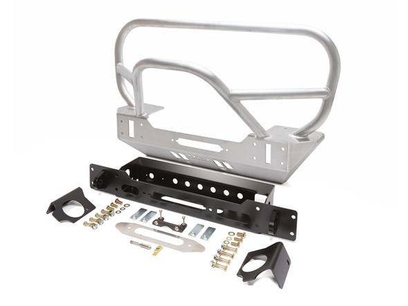 GenRight JK Trail/Grill Guard Front Bumper - Aluminum FBB8240