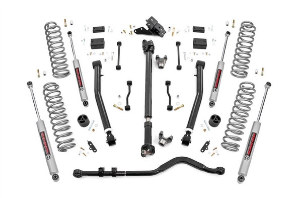 "ROUGH COUNTRY 3.5"" JEEP SUSPENSION LIFT KIT 