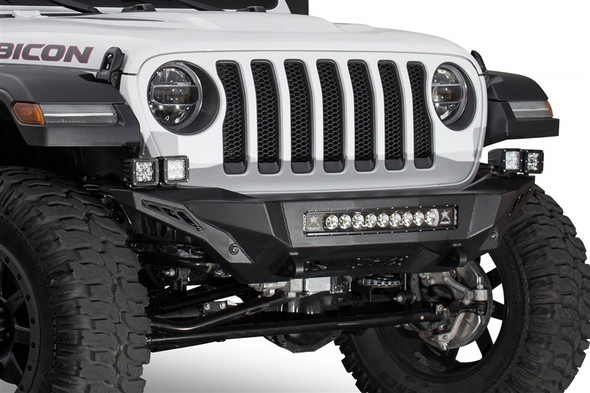 ADDICTIVE DESERT DESIGNS | 2018 JEEP WRANGLER JL STEALTH FIGHTER FRONT BUMPER - F961192080103
