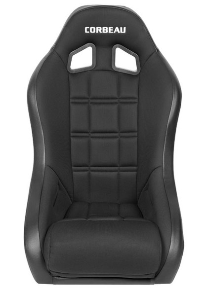 When it comes to off road racing seats, it really doesn't get better than the Baja XP, seriously though, it doesn't! Years of research and design have gone into creating this stunning seat. When you combine feedback from enthusiasts with the expertise of Corbeau, you get a seat that is hands down, the best! Whether you're an extreme off road racer or a casual weekend off roader, the Baja XP will enhance your overall driving experience. The Baja XP is equipped with the Corbeau Suspension System, which has been proven to provide superior cushioning and significant energy return upon impact. The suspension system creates somewhat of a trampoline effect, which absorbs the impact that your back would otherwise endure. Its extra high side bolsters will absolutely eliminate body shifting. You'll be able to keep your focus on the road and not on body positioning. As a rule of thumb, the Baja XP will fit up to a 38-40 inch waist.