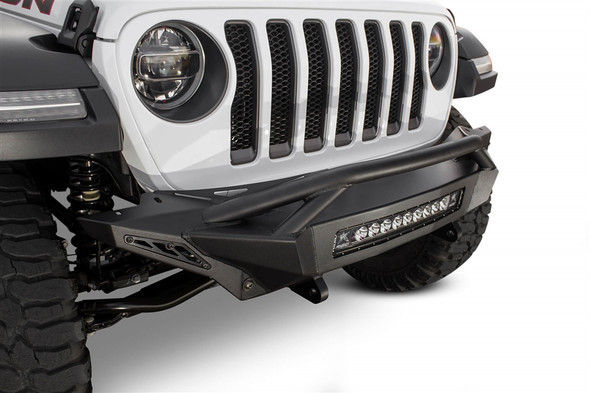 ADDICTIVE DESERT DESIGNS | 2018 JEEP WRANGLER JL STEALTH FIGHTER TOP HOOP FRONT BUMPER - F961392080103
