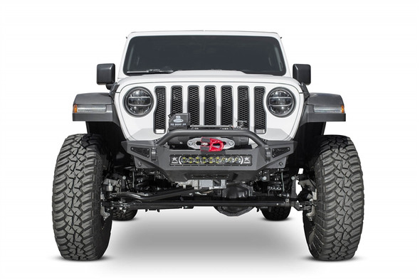 ADDICTIVE DESERT DESIGNS | 2018 JEEP WRANGLER JL ROCK FIGHTER WINCH FRONT BUMPER - F964902080103