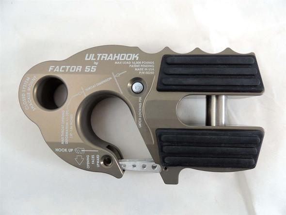 FACTOR 55 UltraHook Winch Hook W/Shackle Mount