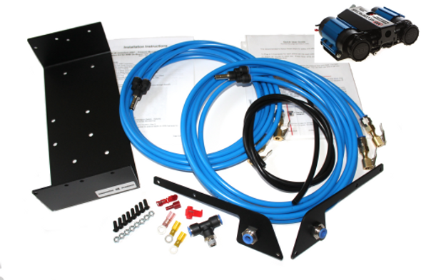 Innovative JK Products IJKP-1-ARB: 4-Tire Air System with ARB Twin Compressor CKMTA12 Package Deal
