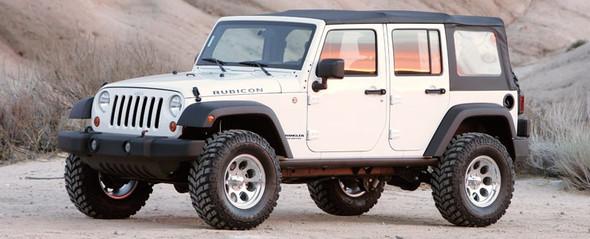 "FABTECH 3"" Basic System w/ Performance Shocks - 2007-14 Jeep JK 4WD"