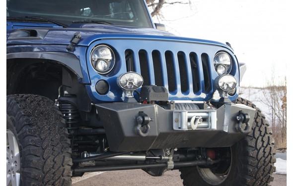Nemesis Front Bumper Stud Style Light Mount 2 / 4 Door - For Triumph or Odyssey