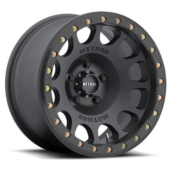 METHOD RACE WHEELS - RS 105 BEADLOCK MATTE BLACK