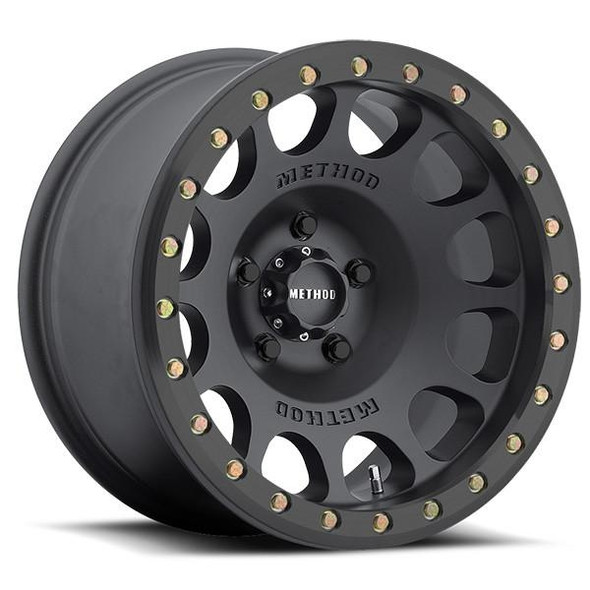 METHOD RACE WHEELS - RS 105 BEADLOCK MATTE BLACK
