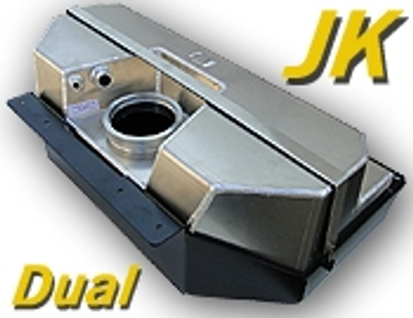 GenRight Off Road Crawler Gas Tank, JK - Dual Tank