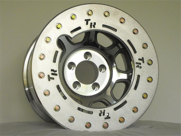 "Trail Ready Hd17 17 X 8-1/2"" Beadlock Wheel W/ Rock Ring"