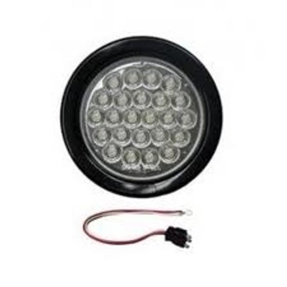 "Poison Spyder 2-1/2"" LED Back-Up Light - Clear"