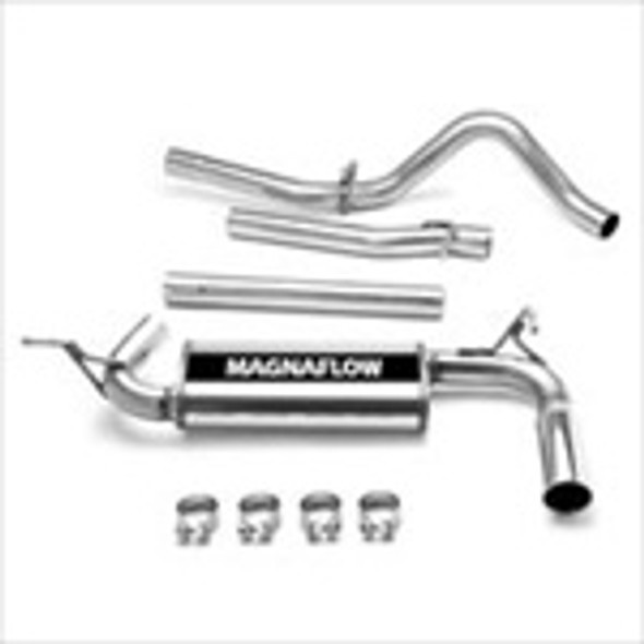 Magnaflow Performance Cat-Back Exhaust System JK 4Dr