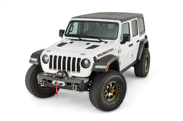 WARN ELITE SERIES STUBBY FRONT BUMPER WITH NO TUBE, JEEP JL - 101325