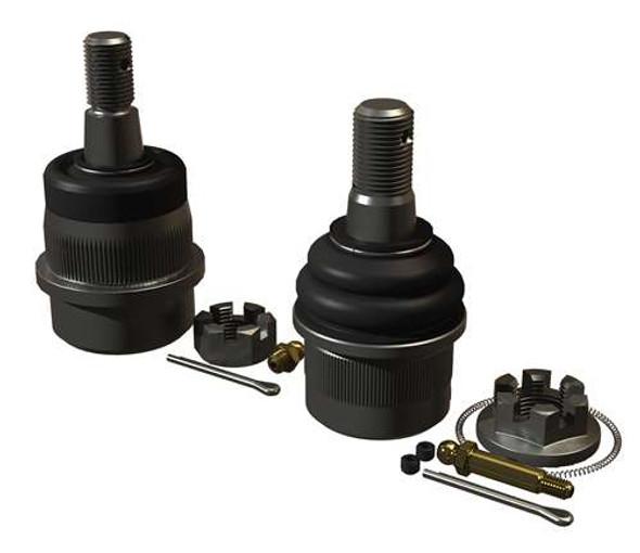 Teraflex JK/JKU HD Dana 30/44 Upper & Lower Ball Joint Kit w/ Knurl - Pair