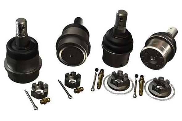 Teraflex JK/JKU HD Dana 30/44 Upper & Lower Ball Joint Kit w/out Knurl - Set of 4