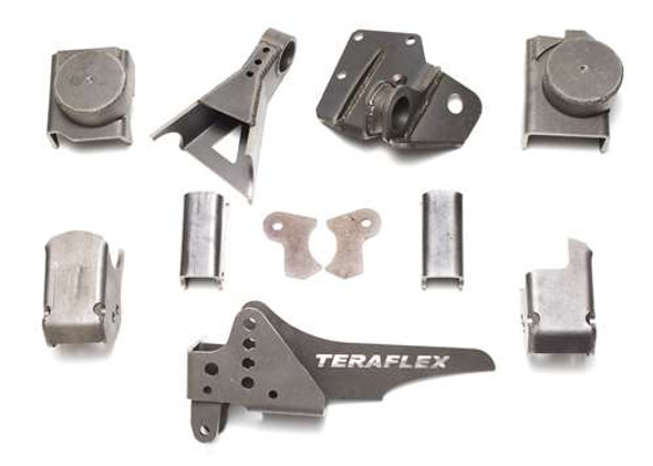 JK/JKU Tera60 Front Axle Bracket Kit