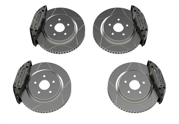 """Teraflex JL/JLU_JK/JKU: Delta Brake Kit - Front & Rear - 5x5"""" Bolt Pattern - 4403450"""