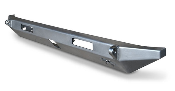 Poison Spyder Jeep JK BFH II Rear Bumper With 2 Inch Receiver And D-Ring Tabs