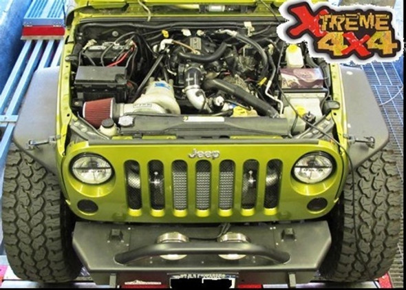 RIPP 2007-2011 Gen2 Jeep Wrangler JK Supercharger Kit V3 Si-Trim Stage 2 Intercooler