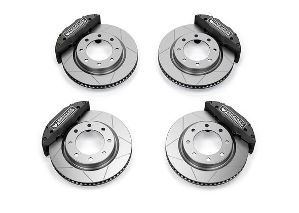 """Teraflex JL/JLU - JK/JKU: Delta Brake Kit - Front & Rear - 8x6.5"""" Bolt Pattern - 4403480"""