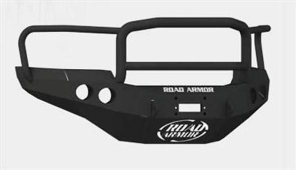 Road Armor Front Stealth Winch Bumper, Lonestar Guard, Satin Black 2