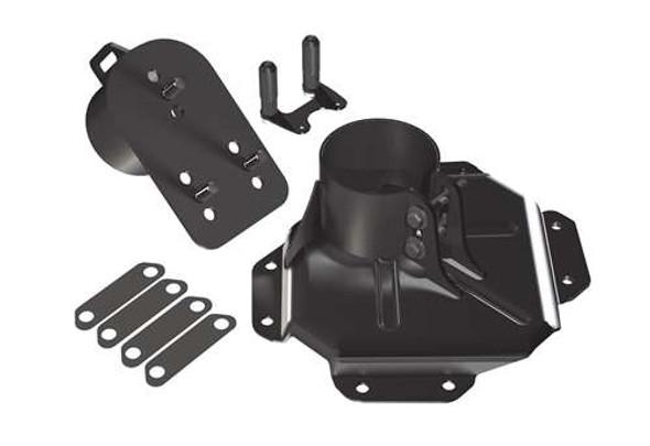 Teraflex JK/JKU Alpha HD Adjustable Spare Tire Mounting Kit - 5x5