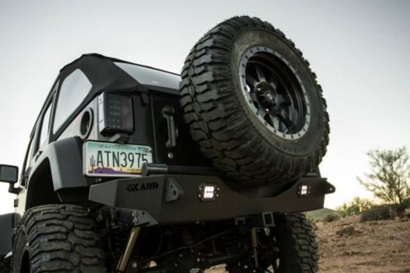 Addictive Desert Designs 2007 - 2018 Jeep JK Stealth Fighter Rear Bumper - R9514313801Na