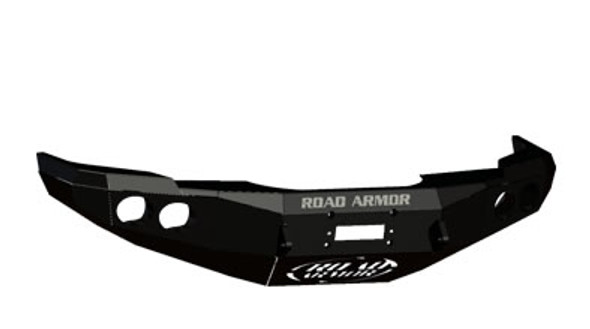 Road Armor Front Stealth Winch Bumper, Satin Black 14