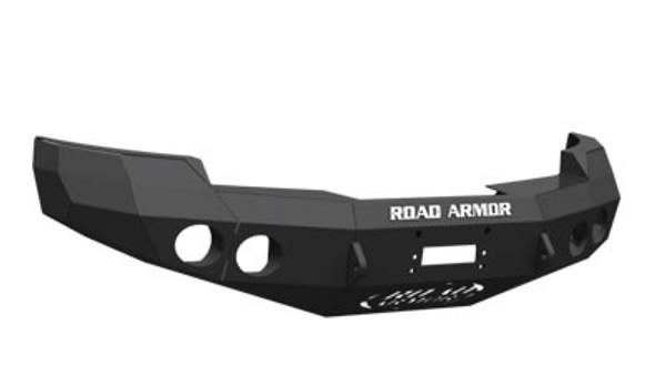 Road Armor Front Stealth Winch Bumper, Satin Black