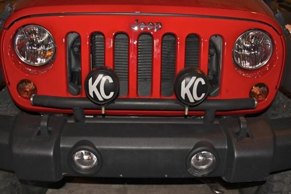 Rock Hard 4x4 Light Mount for Factory Front Bumper Jeep Wrangler JK 2/4DR 2007 - 2018