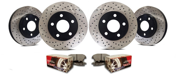 Restraint Complete Brake Upgrade for Jeep Wrangler JK 2007-2017 (D30/D44)