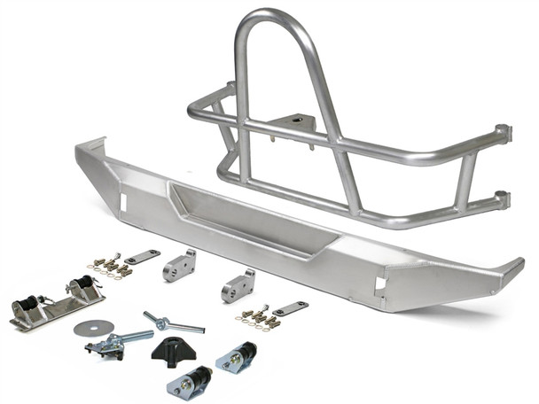 GENRIGHT JEEP JL (2018) SWING OUT REAR TIRE CARRIER & BUMPER PACKAGE (ALUMINUM)