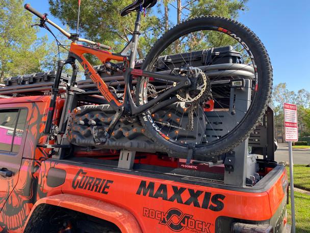 XPLOR Bed Rack Bike Mount - ROE-XBR-BM-BLK