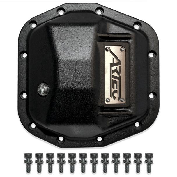 Artec Industries Artec Hardcore Diff Cover for Jeep Wrangler JL M210/D44 Front - AX1021