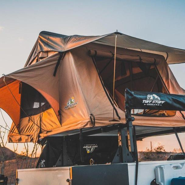 Tuff Stuff® ''Delta'' Overland Roof Top Tent, 2 Person - TS-RTT-DLT