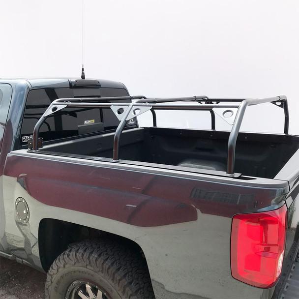 "Tuff Stuff® Roof Top Tent Truck Bed Rack, Adjustable, Powder Coated 51"""