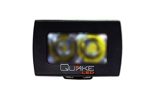 Quake LED 3 Inch 10W Flood RGB Accent
