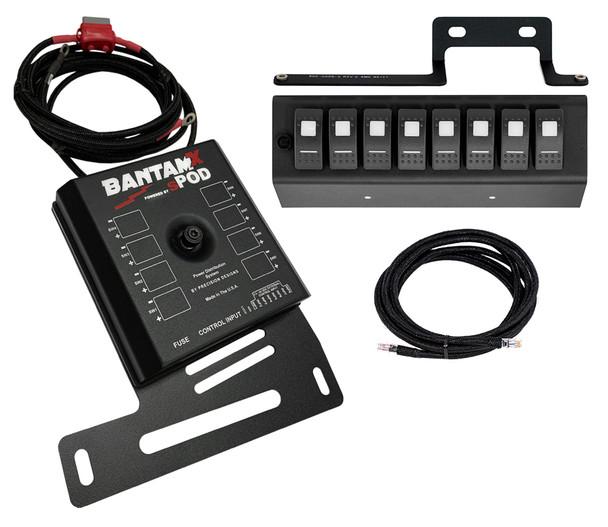 sPOD BantamX W/ LED Switch Panel For JK 2009-2018