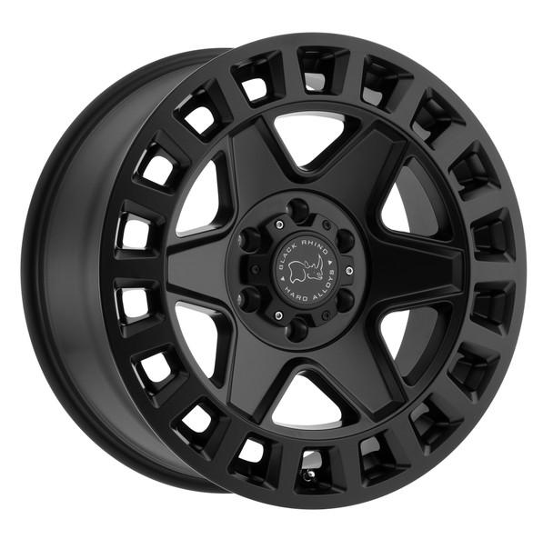 Black Rhino York Matte Black Wheels