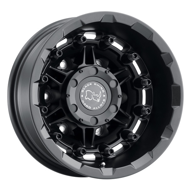 Black Rhino Destroyer- Matte Black Wheels (Rear)