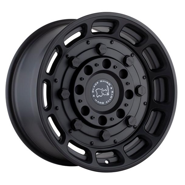 Black Rhino Warthog- Matte Black Wheels