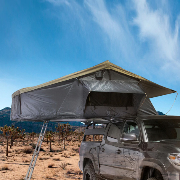 Overland Vehicle Systems Nomadic 3 Extended Rooftop Tent, 3 Person