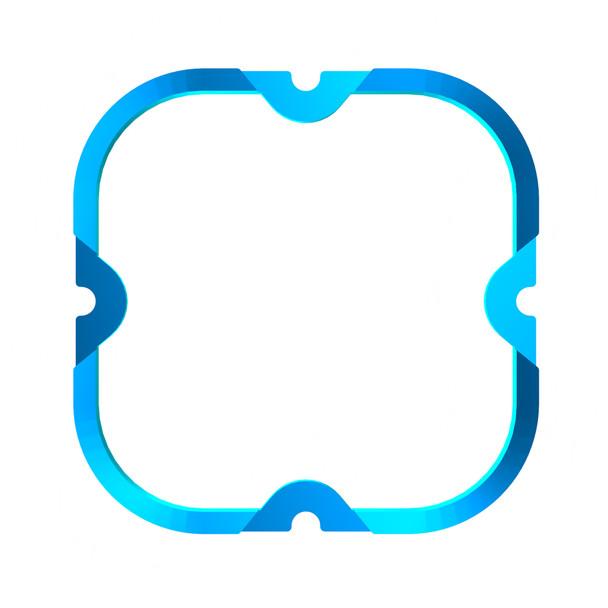 KC HiLiTESFLEX ERA® 4 - 1-Bezel Ring - ED Coated - Blue