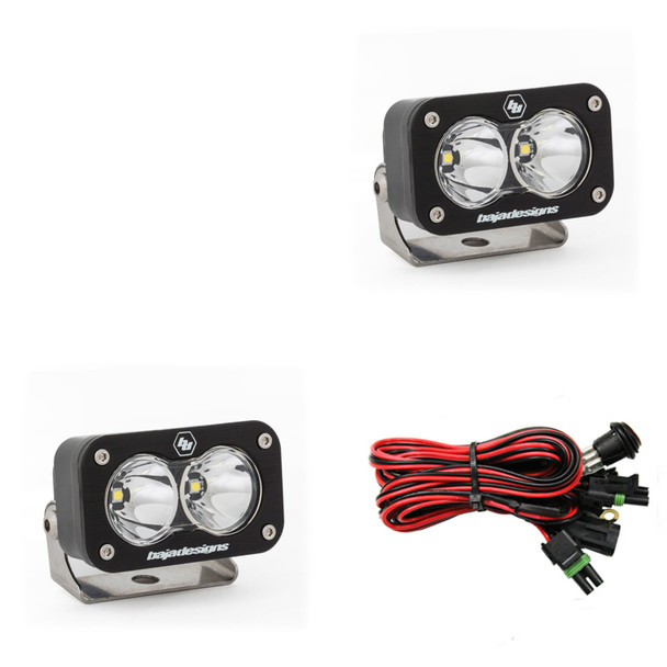 Baja Designs S2 Sport, LED Spot Lights, Pair- 547801