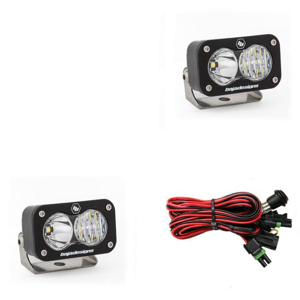 Baja Designs S2 Sport, LED Driving Combo Beam Light, Pair - 547803
