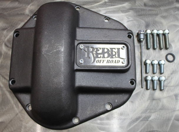 Currie Enterprises D60 Heavy Duty Diff Cover - Special Rebel Edition
