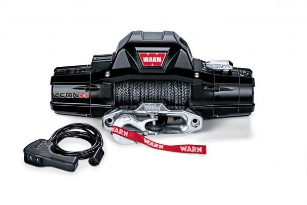 Warn ZEON 8-S Winch w/ 100' Spydura Synthetic rope and Hawse Fairlead