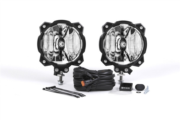KC Hilites Gravity LED Pro6 Single Pair Pack System
